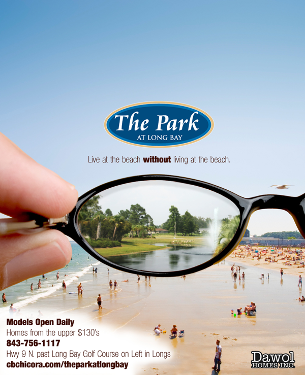 The Park at Long Bay Eyeglass Print Design
