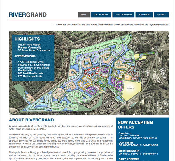 Rivergrand Website Design